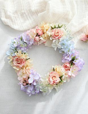 납골당 봄꽃 리스